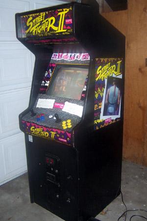 Street Fighter Ii Arcade Cabinet 3rd World Geeks