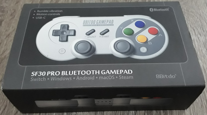 I'll Review Anything: 8Bitdo's SF30 Pro Bluetooth Gamepad
